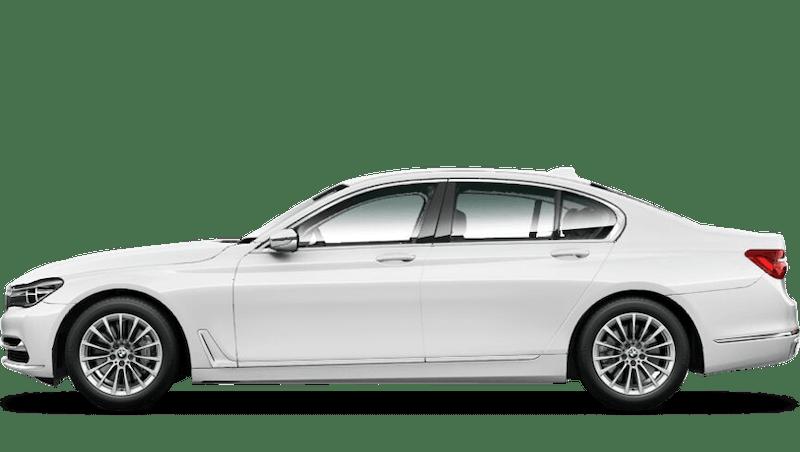 Alpine White (Solid) BMW 7 Series Saloon