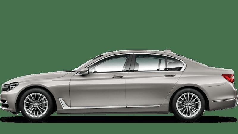 Cashmere Silver (Metallic) BMW 7 Series Saloon