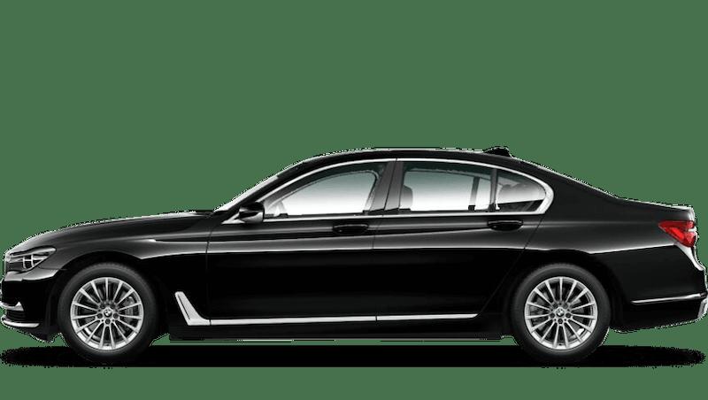 Jet Black (Solid) BMW 7 Series Saloon