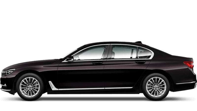 Ruby Black (Individual Paint) BMW 7 Series Saloon