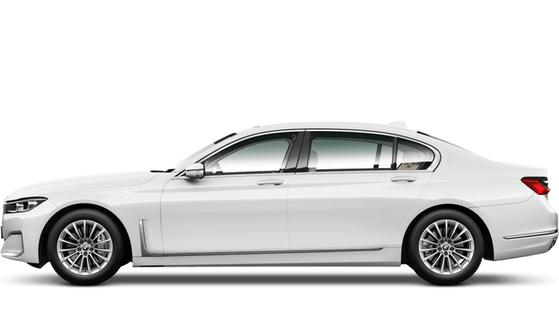 Alpine White (Solid) BMW 7 Series Saloon (LWB)