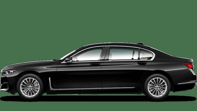 Black Sapphire (Metallic) BMW 7 Series Saloon (LWB)