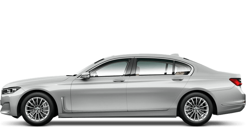 Glacier Silver (Metallic) BMW 7 Series Saloon (LWB)