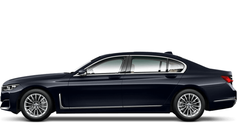 Imperial Blue (Xirallic) BMW 7 Series Saloon (LWB)