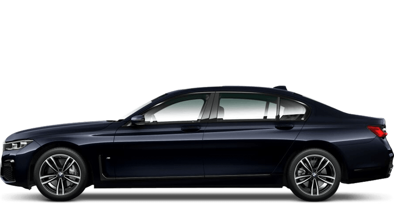 Azurite Black (Metallic) BMW 7 Series Saloon (LWB)