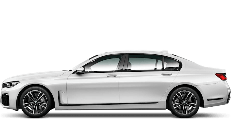 Mineral White (Metallic) BMW 7 Series Saloon (LWB)