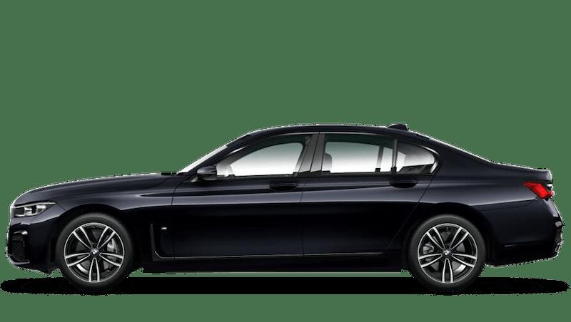 Azurite Black (Individual Paint) BMW 7 Series Saloon