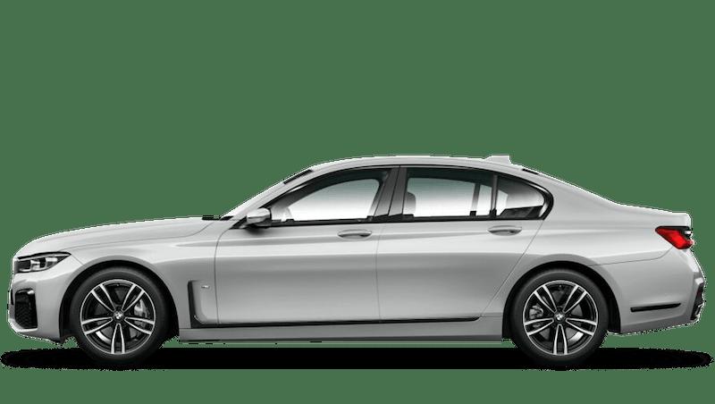Glacier Silver (Metallic) BMW 7 Series Saloon