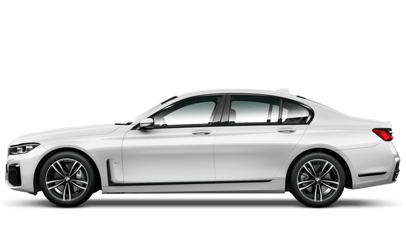 Mineral White (Metallic) BMW 7 Series Saloon