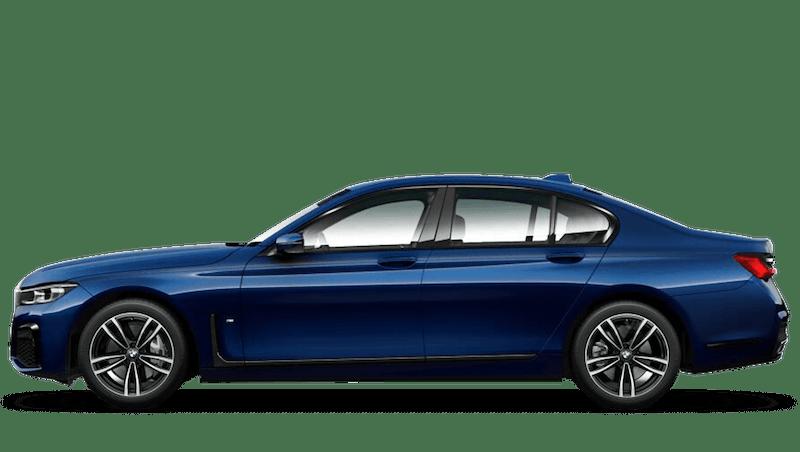 Tanzanite Blue II (Metallic) BMW 7 Series Saloon