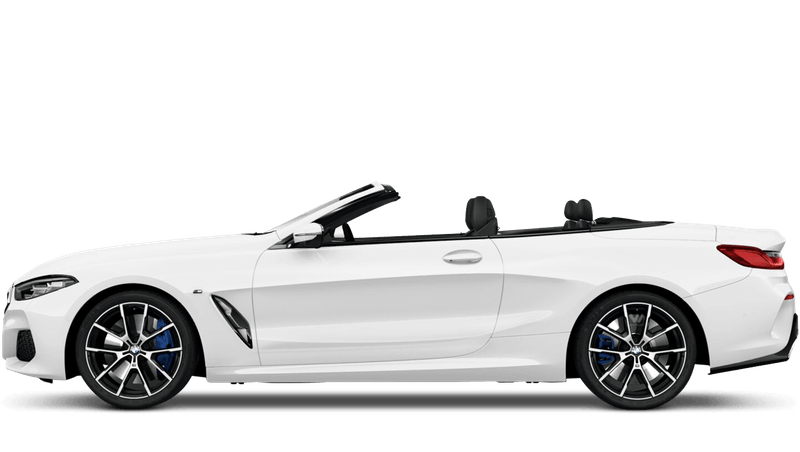 Alpine White (Solid) BMW 8 Series Convertible