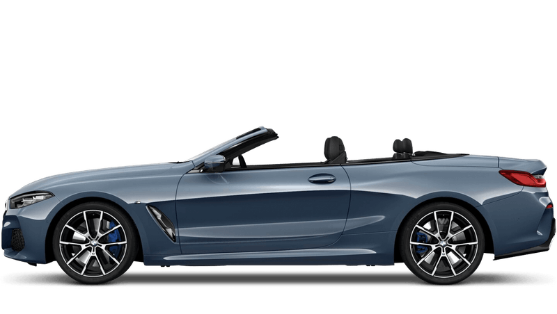 Barcelona Blue (Metallic) BMW 8 Series Convertible
