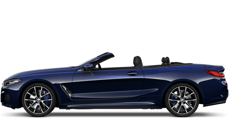 Tanzanite Blue (Metallic) BMW 8 Series Convertible