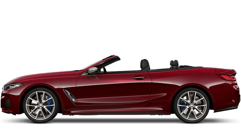 Aventurine Red (Metallic) BMW 8 Series Convertible