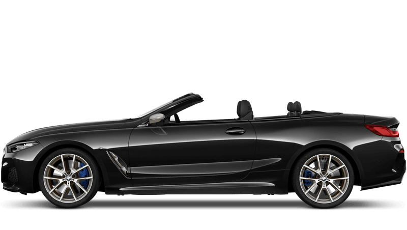 Black Sapphire (Metallic) BMW 8 Series Convertible