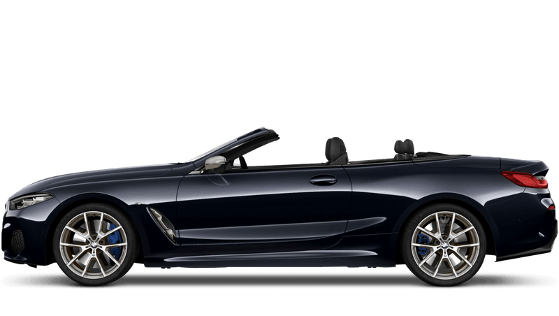 Carbon Black (Metallic) BMW 8 Series Convertible