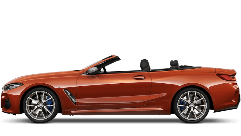 Sunset Orange (Metallic) BMW 8 Series Convertible