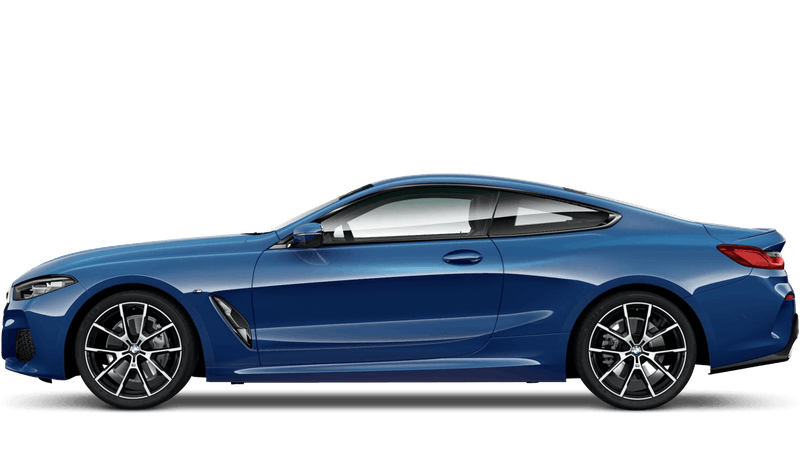 Sonic Speed Blue (Metallic) BMW 8 Series Coupe