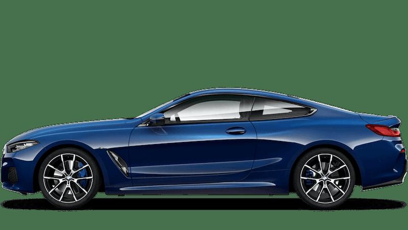 Tanzanite Blue (Metallic) BMW 8 Series Coupé