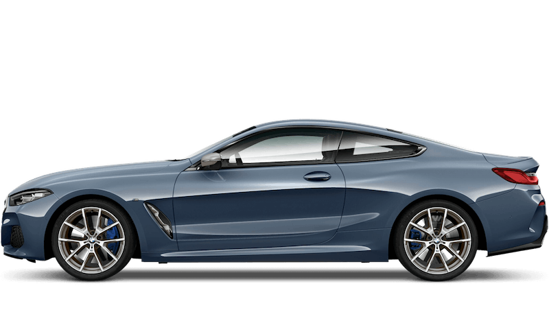 Barcelona Blue (Metallic) BMW 8 Series Coupe