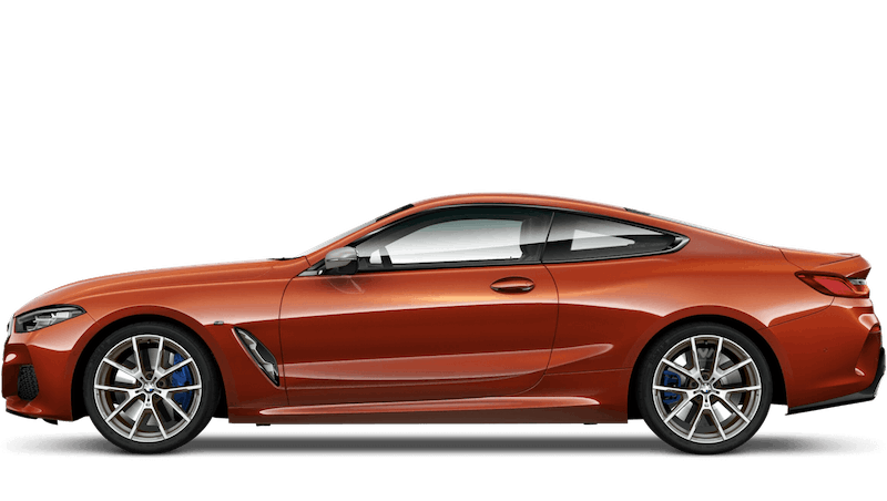 Sunset Orange (Metallic) BMW 8 Series Coupe