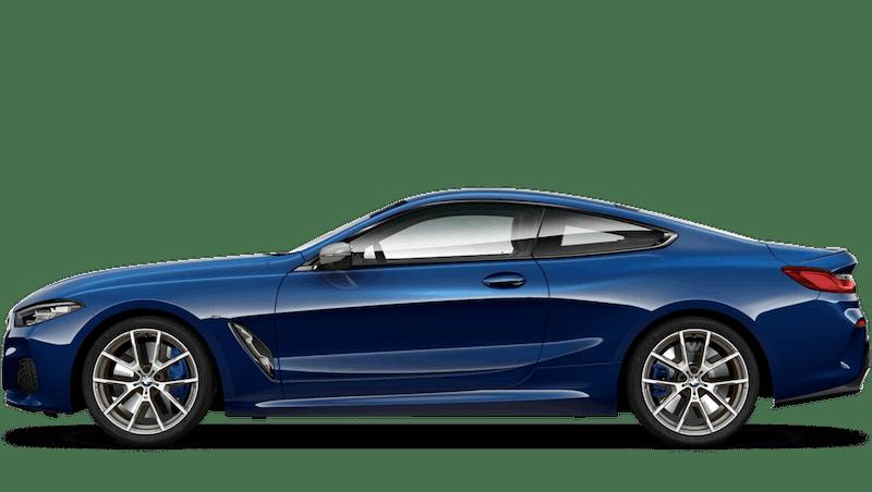Tanzanite Blue (Metallic) BMW 8 Series Coupe