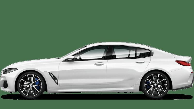 Mineral White (Metallic) BMW 8 Series Gran Coupé
