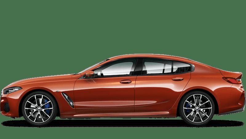 Sunset Orange (Metallic) BMW 8 Series Gran Coupé