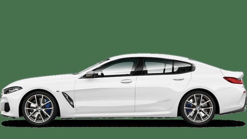 Alpine White BMW 8 Series Gran Coupe