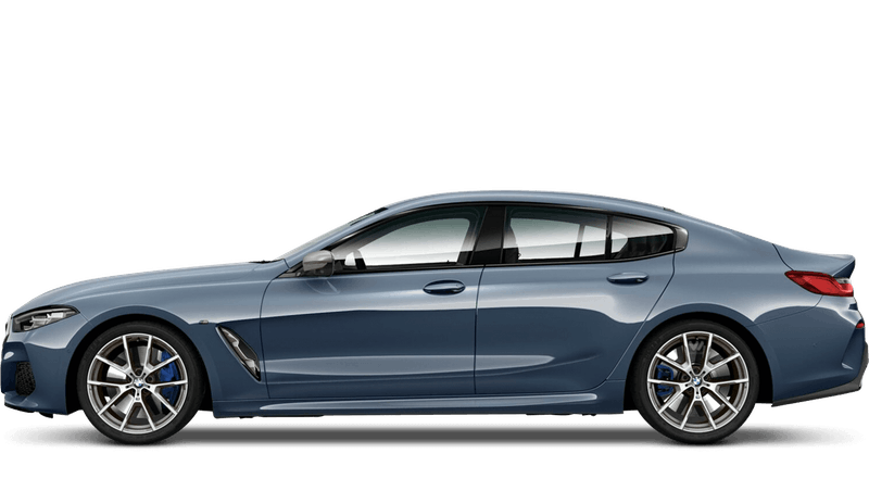 Barcelona Blue (Metallic) BMW 8 Series Gran Coupe