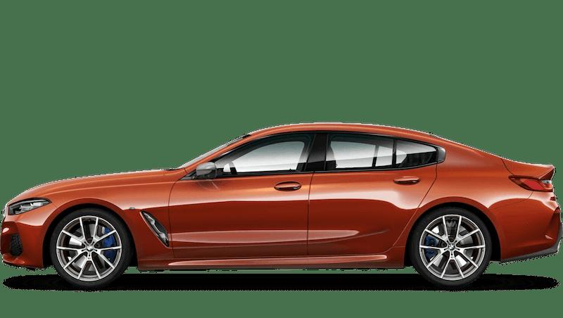 Sunset Orange (Metallic) BMW 8 Series Gran Coupe
