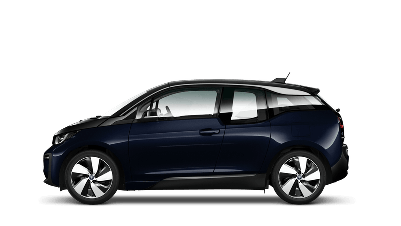 Imperial Blue with Highlight Frozen Grey (Metallic) BMW i3