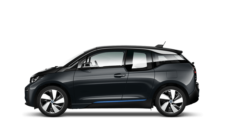 Mineral Grey with Highlight BMW i Blue (Metallic) BMW i3
