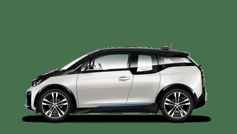 Capparis White with BMW i Blue Highlight (Metallic) BMW i3