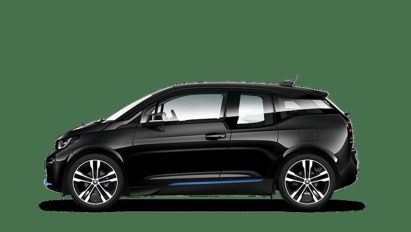 Fluid Black with Highlight BMW i Blue (Metallic) BMW i3