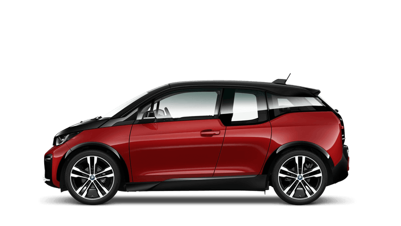 Melbourne Red with Highlight Frozen Grey (Metallic) BMW i3