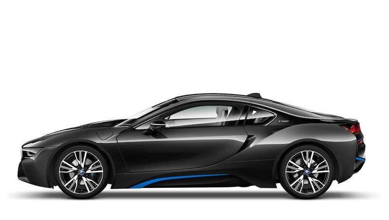 Sophisto Grey With Blue Accent (Metallic) BMW i8 Coupe