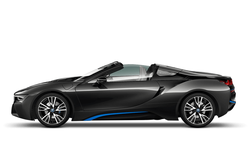 Sophisto Grey With Blue Accent (Metallic) BMW i8 Roadster