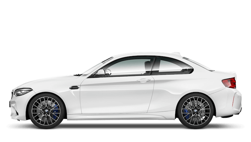 Alpine White (Solid) BMW M2 Competition