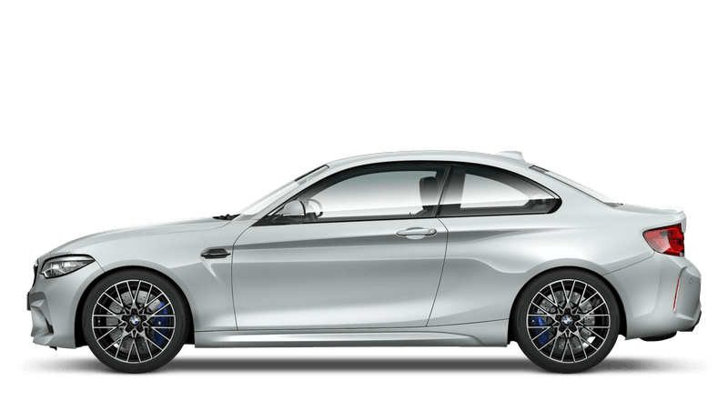 Hockenheim Silver (Metallic) BMW M2 Competition