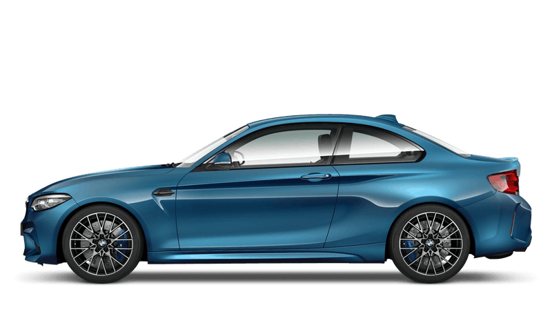 Long Beach Blue (Metallic) BMW M2 Competition