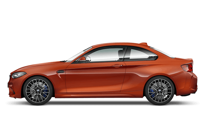 Sunset Orange (Metallic) BMW M2 Competition