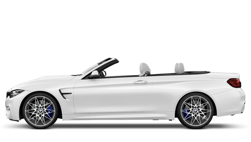 Alpine White (Solid) BMW M4 Convertible
