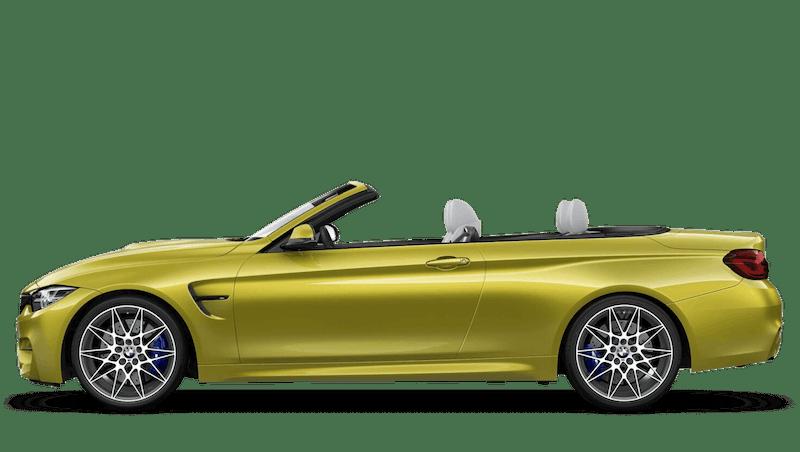 Austin Yellow (Metallic) BMW M4 Convertible