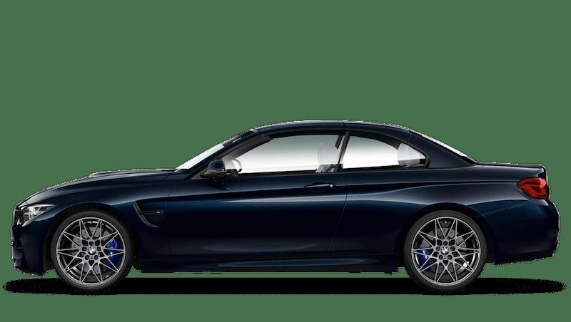 Azurite Black (Metallic) BMW M4 Convertible