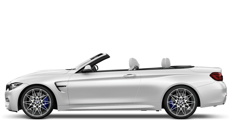Mineral White (Metallic) BMW M4 Convertible