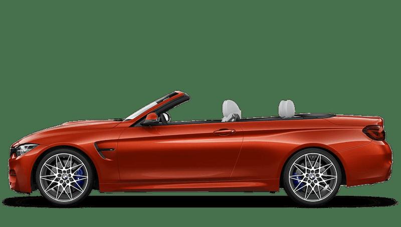 Sakhir Orange II (Metallic) BMW M4 Convertible