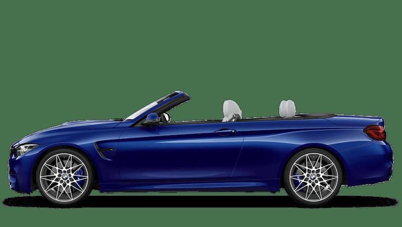 San Marino Blue (Metallic) BMW M4 Convertible