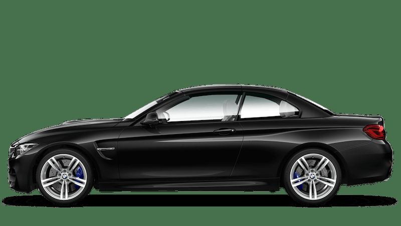 Black Sapphire (Metallic) BMW M4 Convertible