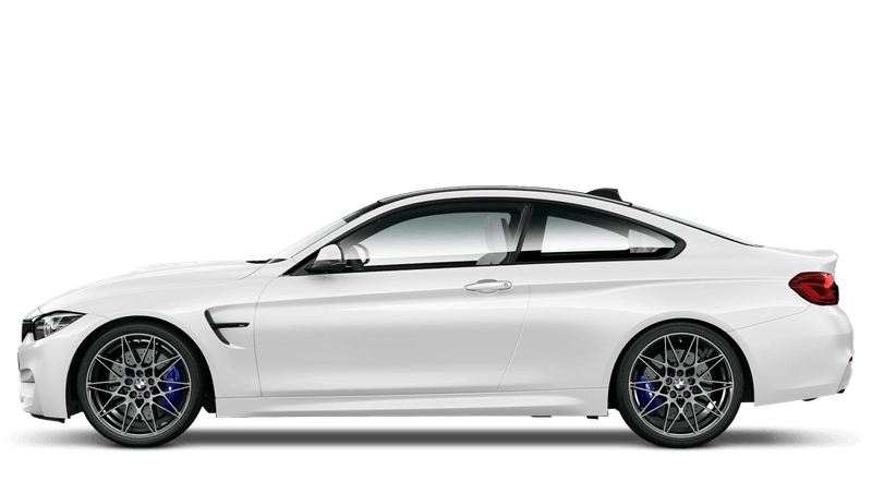 Alpine White (Solid) BMW M4 Coupé